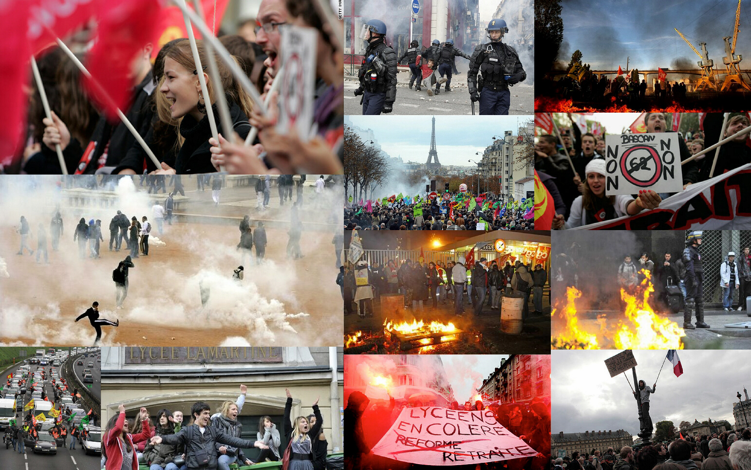 France's eighth day of protests and riots: A new revolution?
