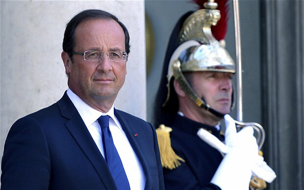 Francois Hollande is tightening fiscal policy by 2pc of GDP next year.
