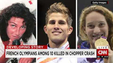 French Olympians among 10 killed in chopper crash