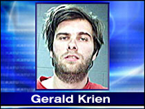 Gerald Krein, the man who allegedly used chat rooms to solicit a mass suicide on Valentine's Day, 2005, was arrested in Oregon.