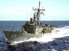 Guided-missile destroyer HMAS Sydney