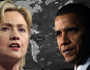 Hillary and Obama foreign policy in the Middle East seems headed for eventual confrontation in Syria and in Iran