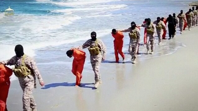 ISIS behead and shoot 30 Ethiopian Christians in Libya