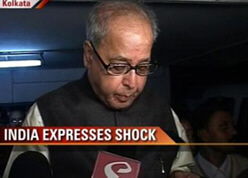 India expresses shock