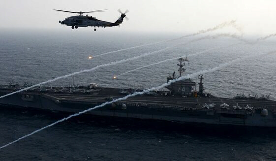 Iranian aircraft buzzes U.S. Navy helicopter in Persian Gulf