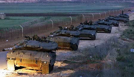 Israeli tanks withdraw from Golan Heights