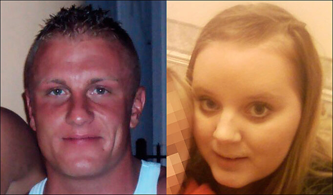 James Forbes, 23, and Lana Williams, 22, were both found hanged in Bridgend