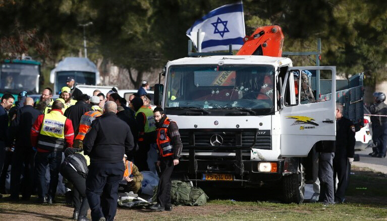 Jerusalem truck attack by ISIS, January 2017