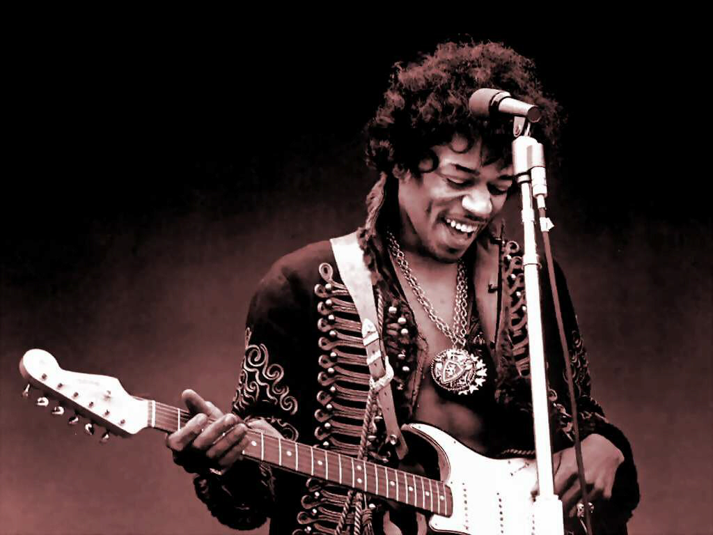 Guitar legend Jimi Hendrix