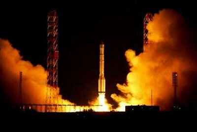 Kazakhstan Launches Its First Satellite from Baikonur
