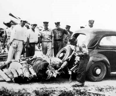 Key West (1935): Zombie bodies being prepared for disposal