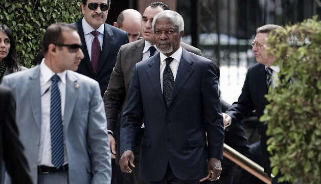Kofi Annan says Syria accepts plan to end violence