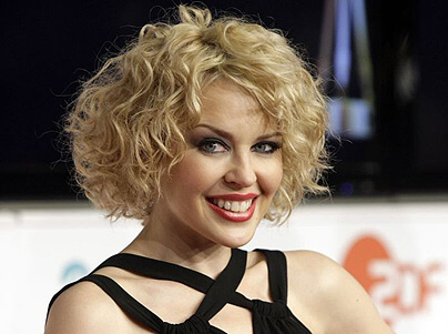 Kylie Minogue was voted as sexiest woman in the world in early 2008