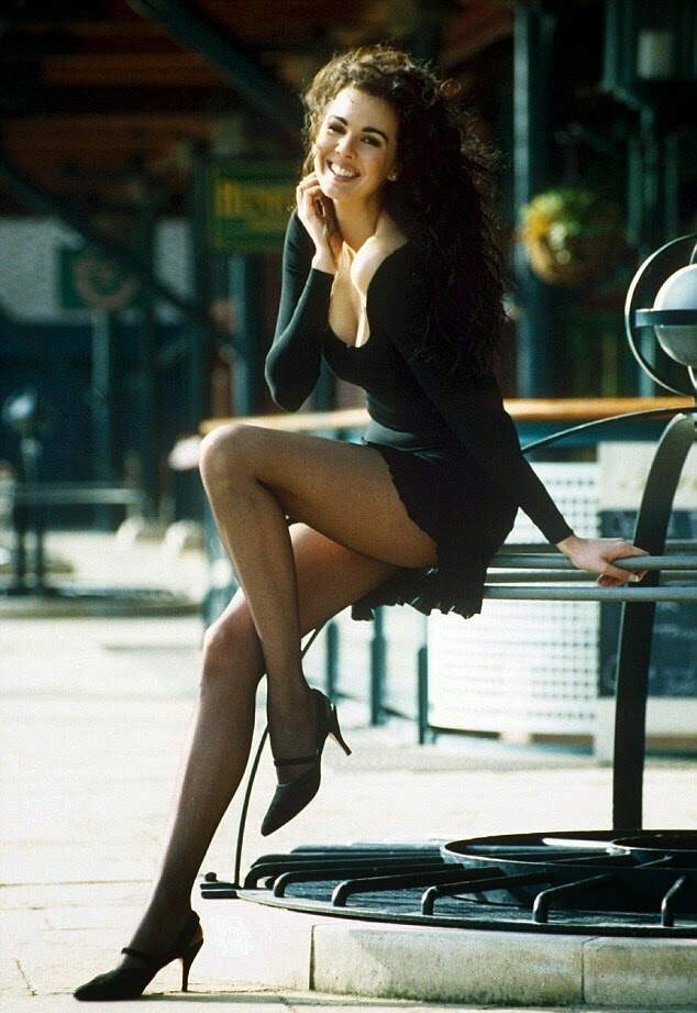 L'Wren Scott in early 1990s photo shoot