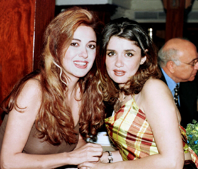 Lebanese actress Madeleine Tabr & Egyptian actress Ghada Adel