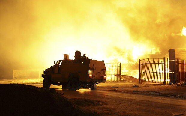 Libya's capital bombed by warplanes