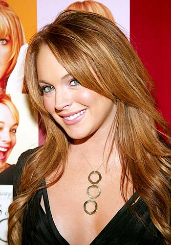 Lindsay Lohan:  Strrrike 2 ! Strike 3 may be fatal.