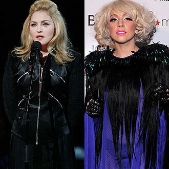 Madonna is 'gaga' over Lady GaGa
