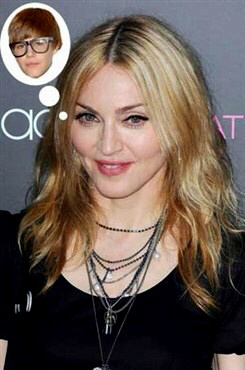 Madonna says nay to men