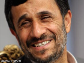 Iranian President Mahmoud Ahmadinejad is disappointed with Obama.