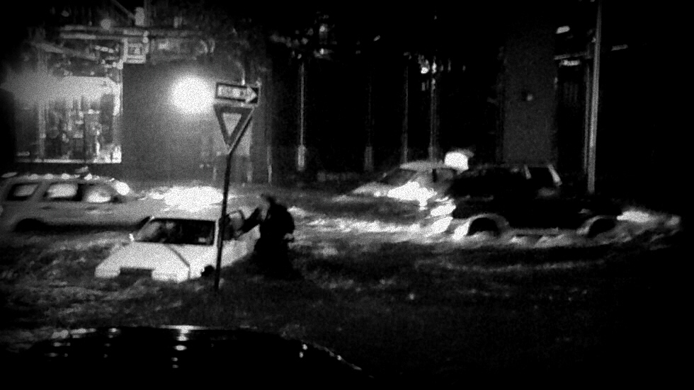 Manhattan flooding during Sandy