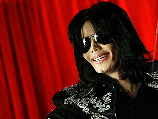 May 5 2009: Michael Jackson says goodbye to his fans as he prepares for an upcoming tour that will never happen. His face in this photo has now been reduced to that of a grinning skull.