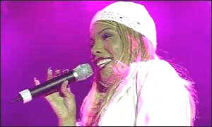 Melanie Thornton of La Bouche
