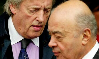 Michael Mansfield and Mohammed al Fayed