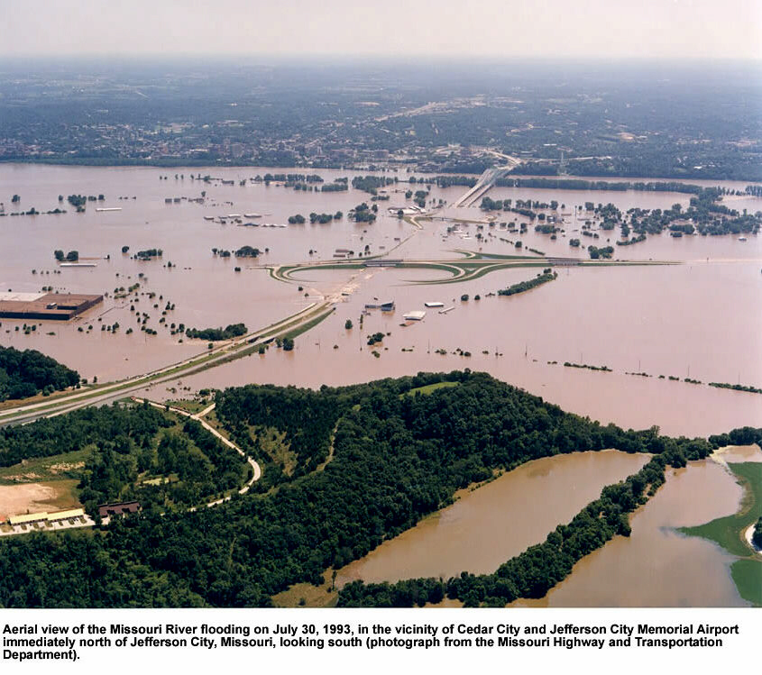 Missouri River Flooding 1993