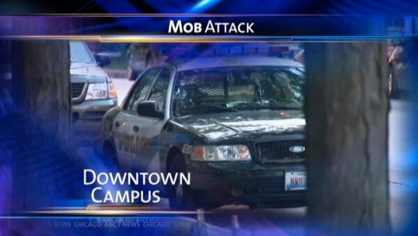 Mob attacks in Chicago