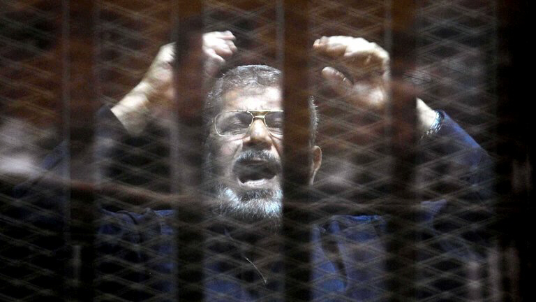 Morsi sentenced to death by HANGING
