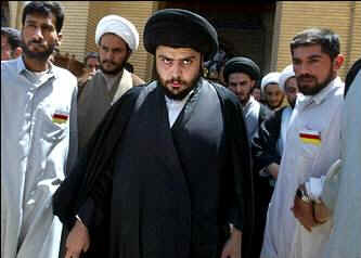 Iraqi Shiite leader Muqtada al-Sadr, the final king of Babylon