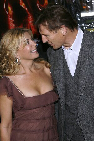 Actress Natasha Richardson and husband, actor Liam Neeson.