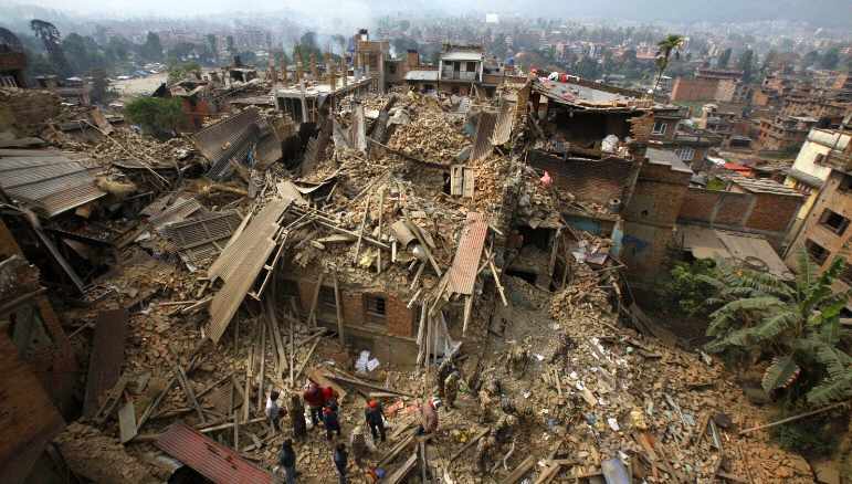 Magnitude 7.8 earthquake slams Nepal, causing catastrophic loss of life