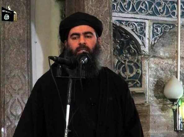 New image of Islamic State leader Abu Bakr al-Baghdadi