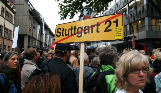 New protests in Germany 10-19-10