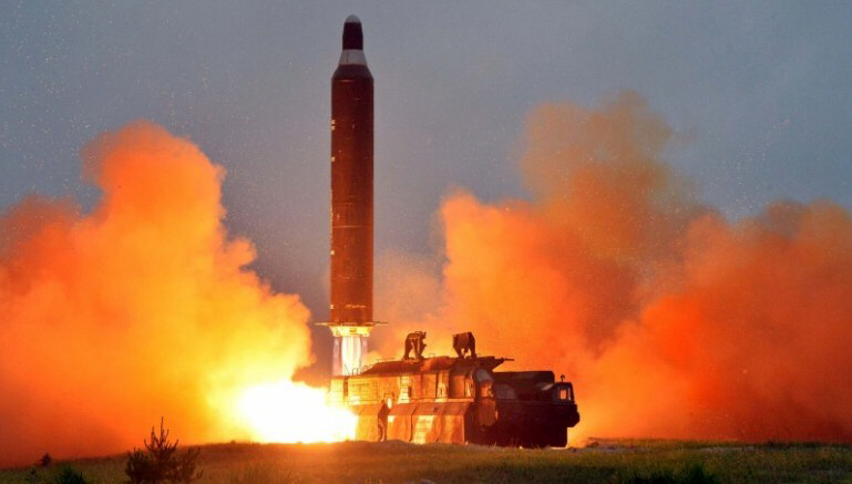 North Korea fires four ballistic missiles into Sea of Japan