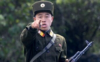 North Korean soldier says 'I'm gonna get you'