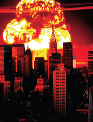 Nuclear destruction of NYC