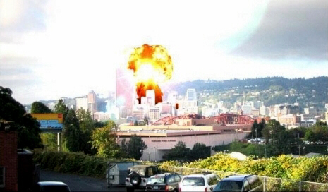 Nuke attack on US city