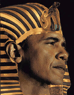 Obama as pharaoh