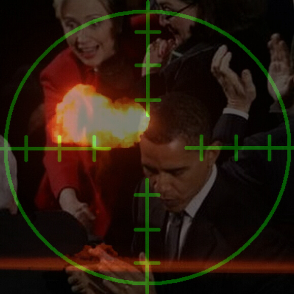 Obama assassination triggers nuclear WW3