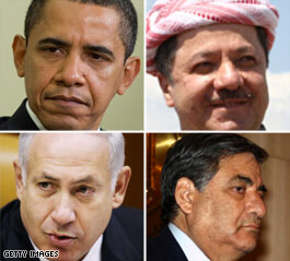 Obama invites Mideast leaders to Washington