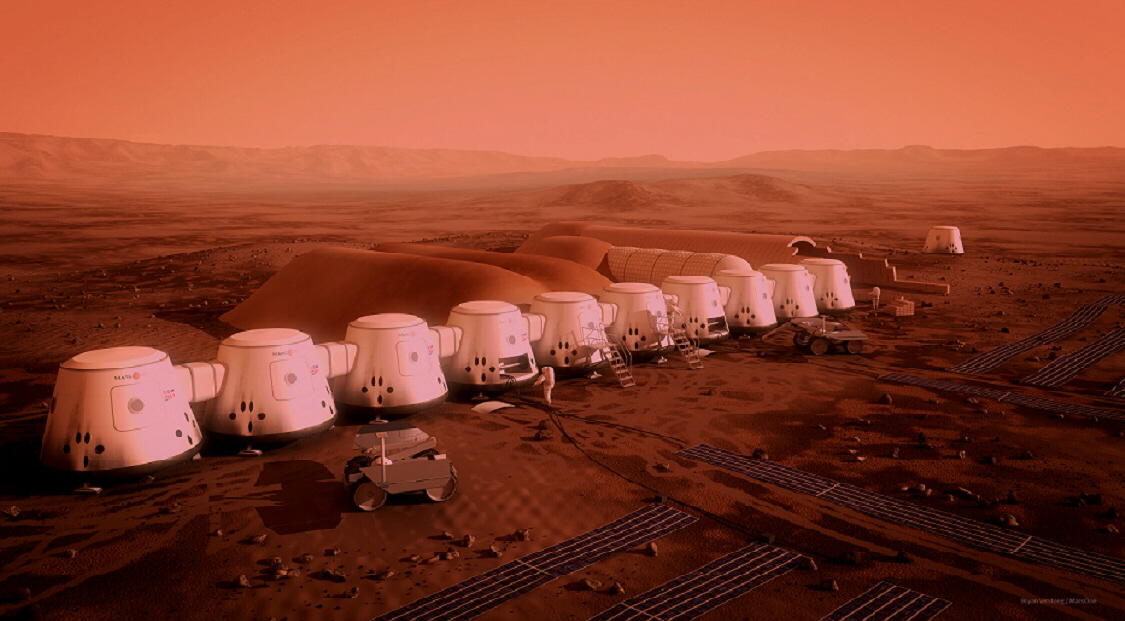 One-way trip to Mars: Privately-owned colonies
