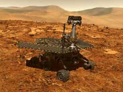 Opportunity rover, part of the MER mission