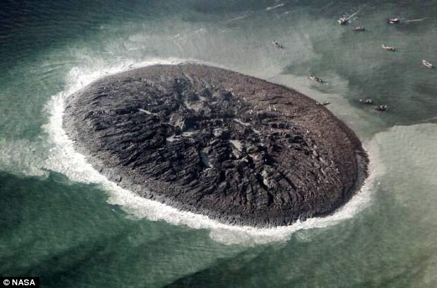 Pakistan earthquake island