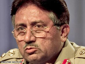 Pakistan's President Pervez Musharraf's handling of the seige at the Red Mosque in July is the trigger for Al Qaeda's declared war against his government.