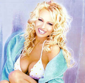 Famous photo shoot of Pamela Anderson