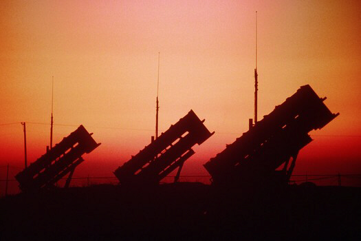 Patriot Missile Launchers being sent to Turkish border with Syria