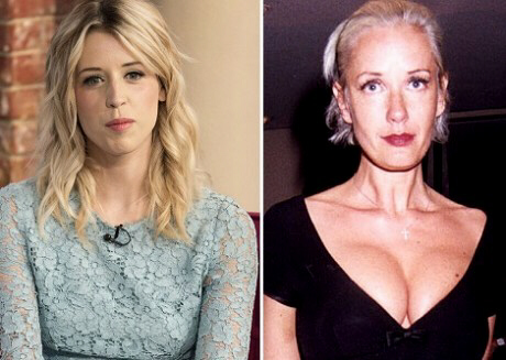 Peaches Geldof and mother Paula Yates died exactly 14 (2 x 7) years apart